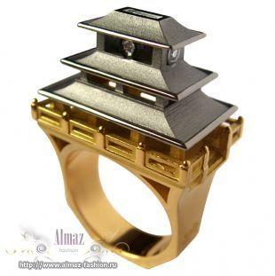 Архитектурные кольца от Филиппа Турнера