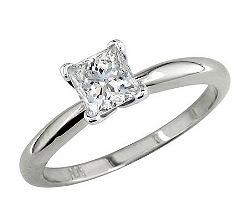 кольца с алмазом фото и цена