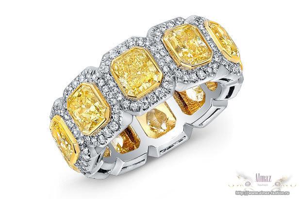 Обручальные кольца из платины . Купить кольцо в RingStudio ...
