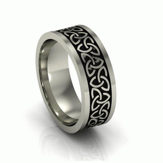 Что означают серебряные кольца для мужчин  - Almaz Fashion - Журнал ... e2b444acaaf33